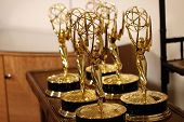 BEVERLY HILLS - JUN 16: Emmy Statues at the 40th Annual Daytime Emmy Awards at The Beverly Hilton Ho