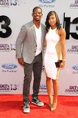 LOS ANGELES - JUN 30: Chris Paul, Jada Paul at the 2013 BET Awards at Nokia Theater L.A. Live on Jun