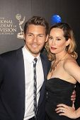 BEVERLY HILLS - JUN 16: Scott Clifton, Nicole Clifton at the 40th Annual Daytime Emmy Awards at The