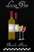 Wine List Italian