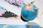 Globe And World Card