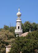 White Mosque Minaret