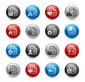 Documents Icons - Set 2 // Gel Pro Series