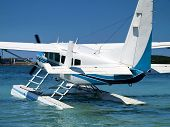 pic of cessna  - sea plane prepare for flight  - JPG