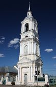 Belfry of the Semionovskaya church. Russia, Suzdal