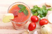 cold spicy vegetable juice