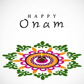 pic of onam festival  - South Indian festival Onam wishes background - JPG