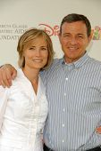 Bob Iger and wife  at the 2010 A Time For Heroes Celebrity Picnic, Wadsworth Theater, Los Angeles, CA. 06-13-10
