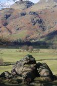 Odd rock English Lake District