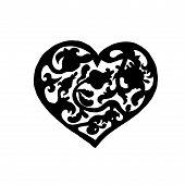 Ornamental vintage heart