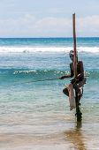 The Stilt Fishermen Of Galle
