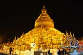 Shwezigon Pagoda, Night