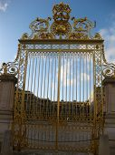 Gate at Versailles Palace, France