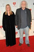 David Crosby and wife Jan Dance at the 2010 MusiCares Person Of The Year Tribute To Neil Young,  Los Angeles Convention Center, Los Angeles, CA. 01-29-10