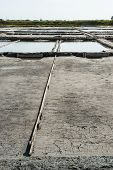 Evaporation Ponds Of Salt Farm, Portugal