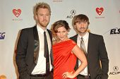 Charles Kelley, Hillary Scott and Dave Haywood at the 2010 MusiCares Person Of The Year Tribute To Neil Young,  Los Angeles Convention Center, Los Angeles, CA. 01-29-10