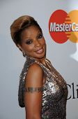Mary J. Blige  at The Recording Academy and Clive Davis Present The 2010 Pre-Grammy Gala - Salute To Icons, Beverly Hilton Hotel, Beverly Hills, CA. 01-30-10