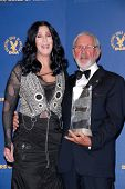Cher and Norman Jewison at the 62nd Annual DGA Awards - Press Room, Hyatt Regency Century Plaza Hotel, Century City, CA. 01-30-10