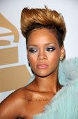 Rihanna at The Recording Academy and Clive Davis Present The 2010 Pre-Grammy Gala - Salute To Icons,