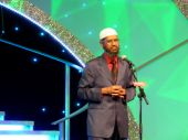 Zakir Naik on Stage