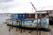Old Boat At Burnham On Crouch