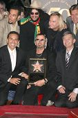 Ben Harper, Don Was, Joe Walsh, Antonio Villaraigosa, Ringo Starr and Leron Gubler at the induction ceremony for Ringo Starr into the Hollywood Walk of Fame, Hollywood, CA. 02-08-10