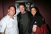Rod Grant Kagan, Gil Cates Jr. and Mimi Rogers  at the