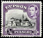 Peristerona Church Stamp