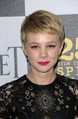 Carey Mulligan  at the 25th Film Independent Spirit Awards, Nokia Theatre L.A. Live, Los Angeles, CA. 03-06-10