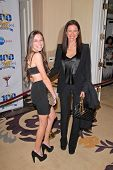 Mimi Rogers and daughter Lucy  at the 2010 Night of 100 Stars Oscar Viewing Party, Beverly Hills Hot