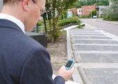 Businessman Making Phonecall