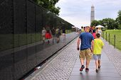 Washington Dc - Vietnam Memorial