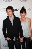 James Marsden and Lisa Linde at the Tod's Beverly Hills Boutique Opening Celebration, Tod's Boutique, Beverly Hills, CA. 04-15-10