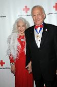 Lois Aldrin and Buzz Aldrin at the Red  Cross Red Tie Affair Fundraiser Gala, Fairmount Miramar Hote