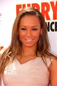 Melanie Brown at the Los Angeles Premiere of