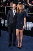 Taylor Kitsch, Connie Britton at the