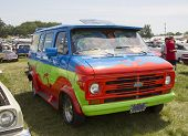 1974 Chevy Scooby Doo Mystery Machine Van