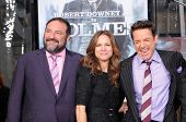 Joel Silver, Robert Downey Jr. and wife Susan Levin  at Robert Downey Jr. Hand and Footprints Ceremo