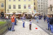Prague, Game With Soap Bubbles