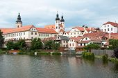 Telc, UNESCO city in Czech Republic