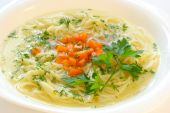 Chicken Soup With Spaghetti poster