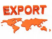 World Export Shows Trading Exporting And Exportation