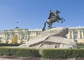 St. Petersburg, Monument To King Peter I