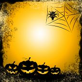 Spider Halloween Indicates Trick Or Treat And Celebration