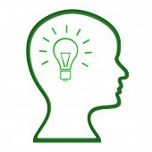 Think Ideas Indicates Innovations Consider And Creativity