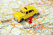 Coln,germany  Map Taxi