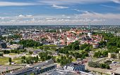 Bird's-eye View Of Old City Of Tallinn