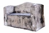 Old Concrete Bench.