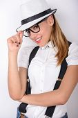 picture of suspenders  - Always looking trendy - JPG