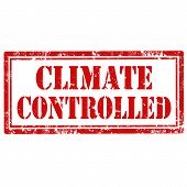 Climate Controlled-stamp